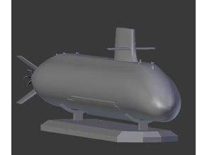JMSDF Souryu Class Diesel Submarine