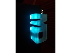 Illuminated Handle for Curing Box (transparent)
