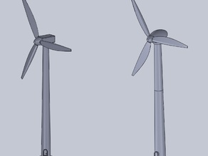 basic scale wind turbine