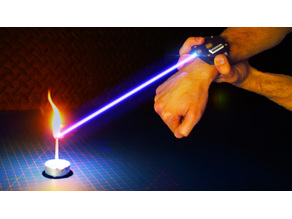 Burning Wrist Laser - Iron Man / 007 James Bond Inspired