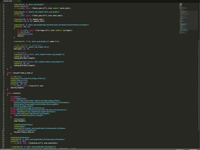 Sublime Text 2 - OpenSCAD - auto complete and syntax highlighting