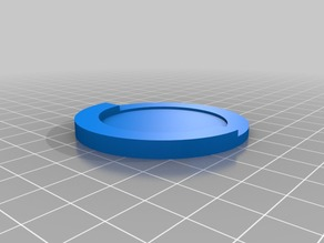 40mm to 55 mm wargaming base adapter