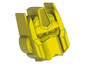 Lego Man Roll Holder : Head Robot