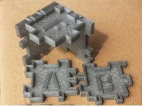 2.5D Cube Puzzle FabLab