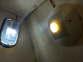 Bathroom Fan Cowl for Motorhome/boat