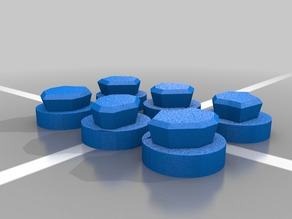 KeyForge 3D Aember Token