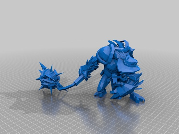 dota 2 bristleback with cosmetics by memnarch1113 thingiverse