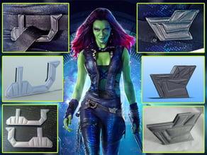 Gamora's Belt Buckles