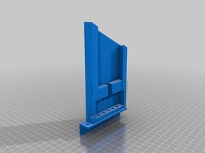 Motorola G4 Phone Holder with Strain Relief With Modifications for REV Extrusion (FTC)