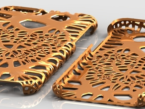 iPhone6 Case Extreme Voronoi (Heart)