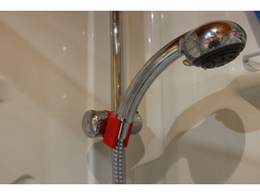 shower nozzle support