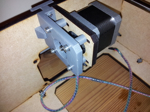 Graber i3 ATX Y-Axis Toughened Motor Mount