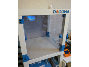 3D printer case with Lack tables (Ikea)