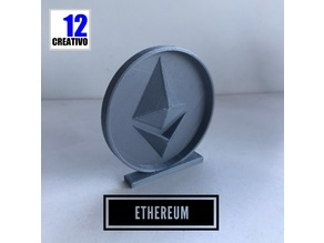 Ethereum Coin ETH Crypto Currency Stand