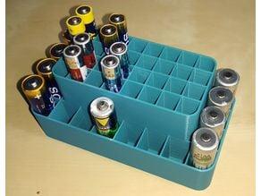 Battery Holder AAA, AA