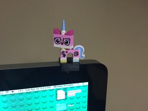 Lego stand for Thunderbolt monitor