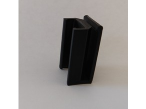 Ender 3/Pro rail clip for ribbon cable