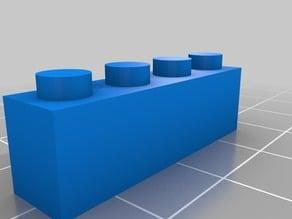 Thin 4 block Lego
