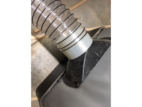 """4"""" dust collector hose adapter"""