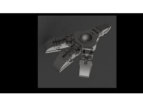 Mars Pattern Style Foot for Wardog Titan