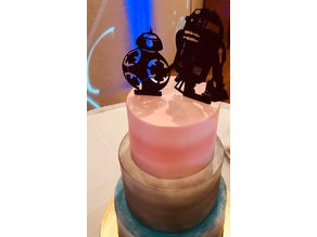 R2 D2 Cake Topper
