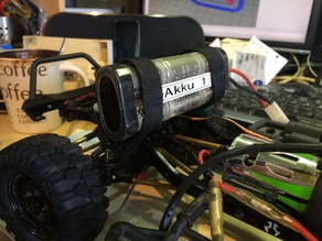 Akku-Holder Front Axial SCX 10
