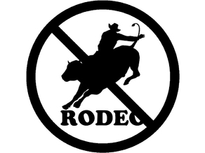 """""""No Rodeo"""" Emblem"""