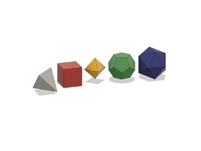 Platonic Solid Collection