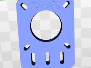 MakerBeam - Stepper motor holder