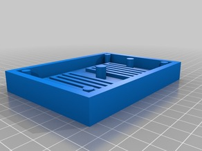 Continuous Flow Reactor Mold