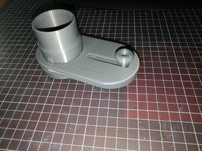 exhaust air slide DN40