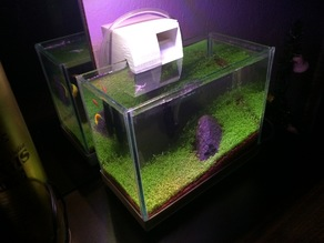Aquarium  Hang-On Waterfall Filter