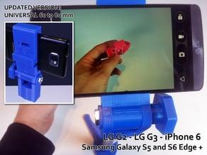 Tabletop smartphone camera holder (tripod - onepod)