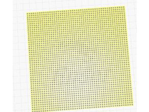 Cross Stitch mesh - 151x151mm