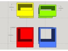 Fractal Design | R4 | Side Mount | Holder