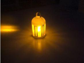 6 Pillar Lantern; Base & Lid