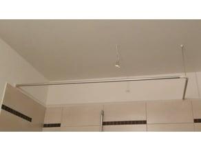 Shower Curtain Rod Parts