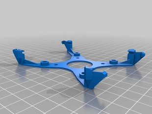 F3 Discovery mount for quadcopter