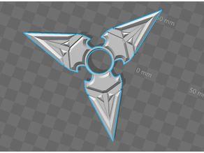 Genji star fidget spinner