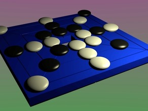 Magnetic Morabaraba Game