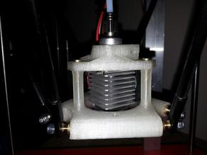 K300 / J-Head / E3D Hotend Quick Clamp Holder for Rostock Delta Printer