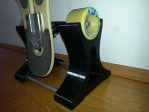Longboard stand
