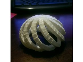 Spiraling Cube Dome