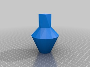 4 to 32 Sided Vase
