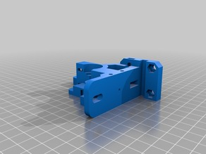 prusa i3 rework budashnozzle extruder 1.75mm with support