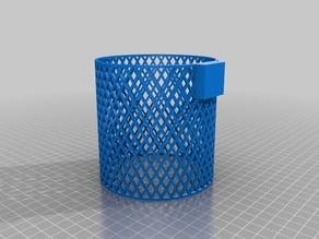Clip-on basket for Ikea Kura Bed