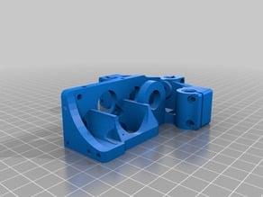 Printrbot 1405 Tri Rod Mod Short (For hotends like the e3d v6)