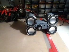 bluetooth speaker setup(4ohm 6watt)
