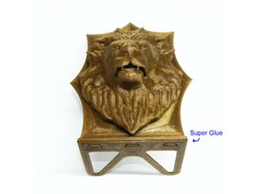 Lion Book End