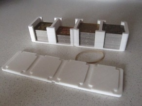 Card Holder with lid for Agricola the Game